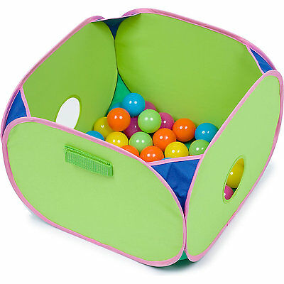 Marshall Pet Pop-n-Play Ball Pit with Plastic Balls 14x14x10  Free Shipping