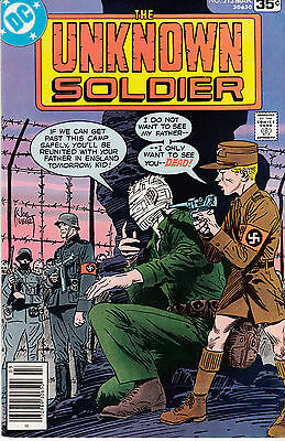 UNKNOWN SOLDIER #213 (March 1978)  Joe Kubert cover