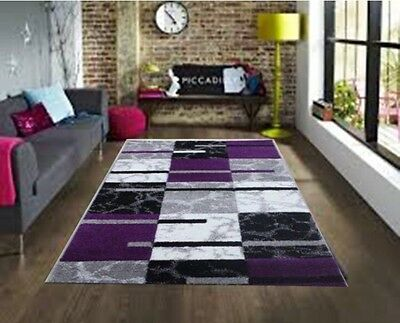 Modern Small Large Silver Grey Purple Soft Rug Cheap Good Quality Runner Rugs