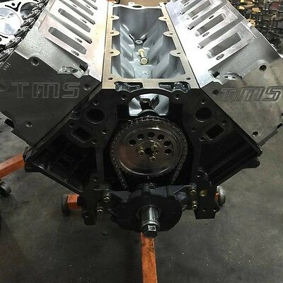 "Thompson Motorsports CNC Ported 799 heads GM LS3 blue springs good to .580"" lift"