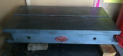 "OMT Surface Inspection Plate: 30"" x 15"": 5"" Tall: W T-Slot: Machinist: Very Nice"