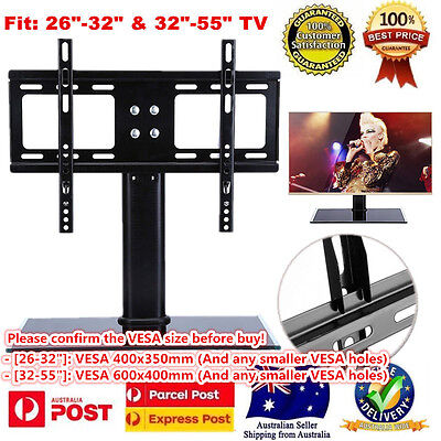 Table LCD Plasma LED TV Screen Desktop Support Stand Bracket Mount Replacement