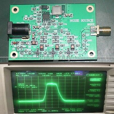 SMA noise source/Simple spectrum external tracking source Analyzer dc 12v