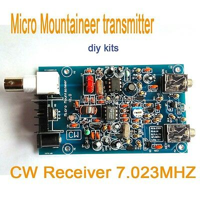 Micro Mountaineer transmitter receiver CW Ham Amateur Shortwave Radio 7.023MHZ