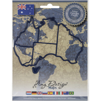 Find It Trading Amy Design Map Die Australia ADD10008