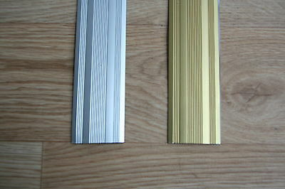 Carpet & Flooring Door Stick Down Bars / Thresholds  Carpet / Vinyl Bar Naplocks