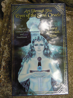 Art Through the eyes of the soul Oracle by Cheryl Yambrach Rose tarot