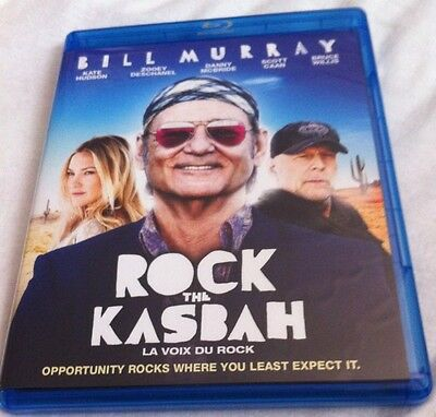 Rock The Kasbah Blu-ray 2015/2016 Bill Murray Kate Hudson Bruce Willis Comedy