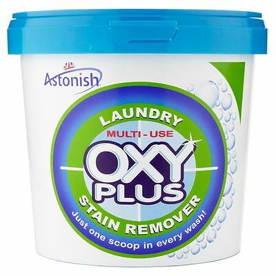 Astonish Oxy Plus Super Concentrated Laundry Washing Stain Remover 1kg