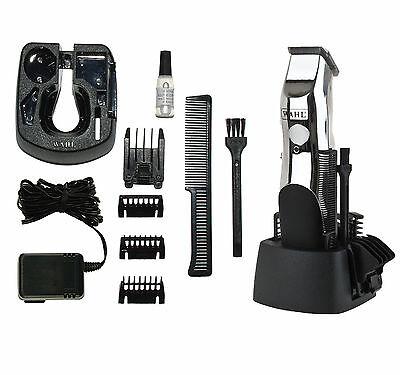 Wahl Groomsman Cordless Rechargeable Hair Beard Trimmer 9916-1117