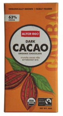 New ALTER ECO Dark Cacao 80g - Organic Chocolate