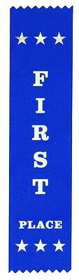 25 First Place Award Ribbons 200 x 50 mm