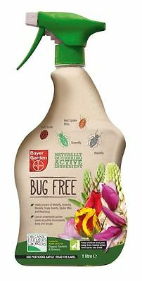Bayer Naturally Occuring Bug Free Pest Control Spray For Plants 1L