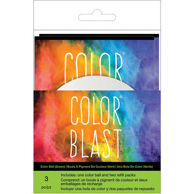 Color Blast Balls  Green CBBAC-74537