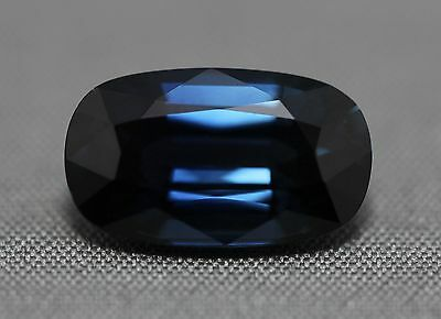 Certified natural Madagascan blue sapphire.