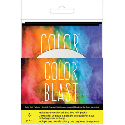 Color Blast Balls  Yellow CBBAC-74536