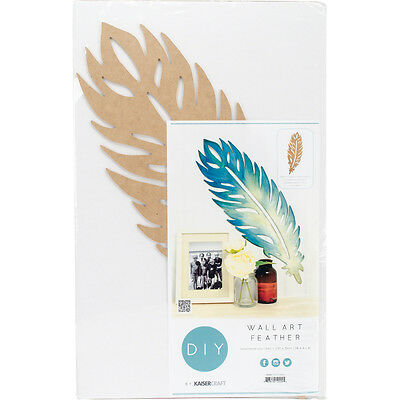 """Beyond The Page MDF Feather Wall Art 26""""X9"""" SB2424"""