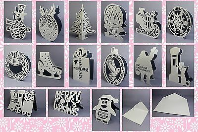Brother ScanNCut Shaped Xmas card templates CD1040