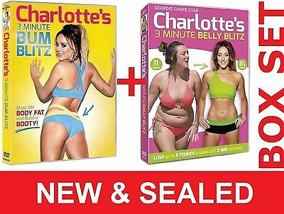 Charlotte Crosby's Geordie Shore 3 Min Belly & Bum Blitz Fat Weight Loss Workout