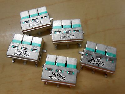 Lot of 5 Surface Mount Dielectric Filters  860D-10
