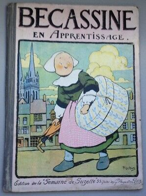 Bécassine en apprentissage  - Édition de 1924 [ref.26233]