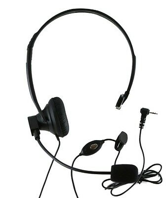 Cordless phone headset 2.5mm with switch on off button