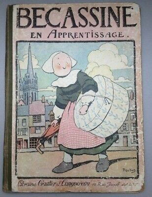 Bécassine en apprentissage - Édition de 1924 [ref.18]