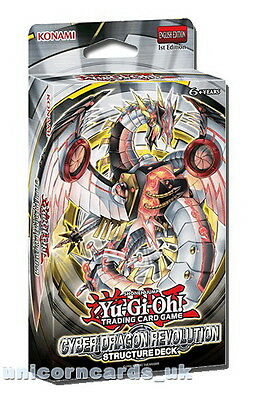 Yu-Gi-Oh! Structure Deck: Cyber Dragon Revolution - Sealed Cards Only, No Box!