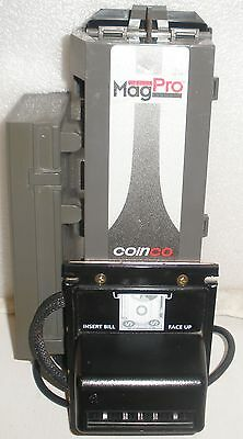 MagPro MAG30B Coinco Coin Acceptor Bill validator set 2008 $5 bill Upgrade BA30B