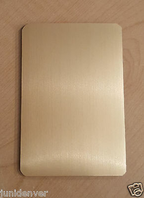 Accordion Flat Address/Phone Book-Plain Gold