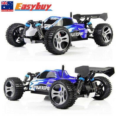 50km/h Wltoys A959 RC Car 2.4G Remote control 4WD Off-Road RC Buggy 1:18 Scale