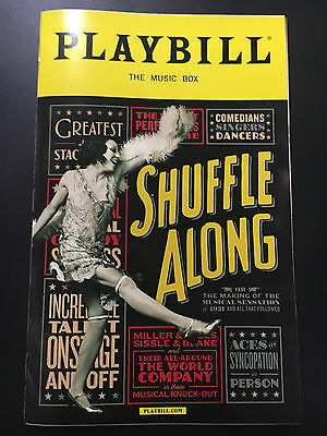 Shuffle Along Broadway Playbill (April 2016)