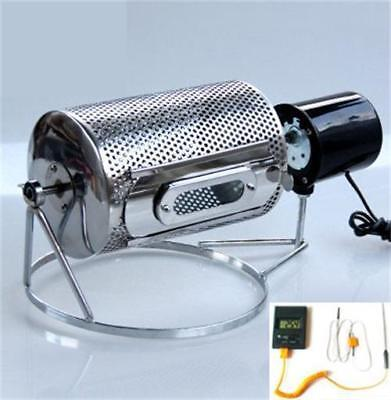 Home Kitchen Coffee Roaster Machine Stainless Steel Probe Thermometer 110V