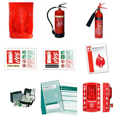 Construction Site Alarm Safety Kit (Fire Extinguisher) *free Shipping*
