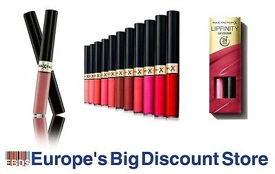 Max Factor Lipfinity 24h Lip Colour - Choose from 19 Shades, 100% Authentic