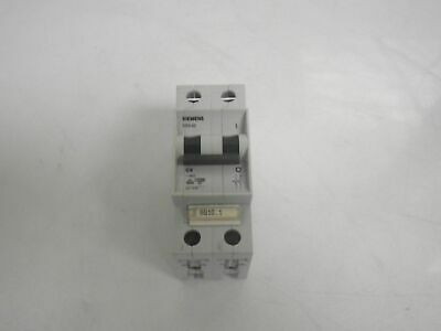 SIEMENS 5SX42 C6 circuit breaker 2pole *USED AND TESTED*