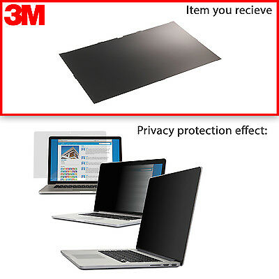New 3M 15.6 Privacy Filter for HP EliteBook 85XX, ProBook 45XX, 64XX, ZBook 15