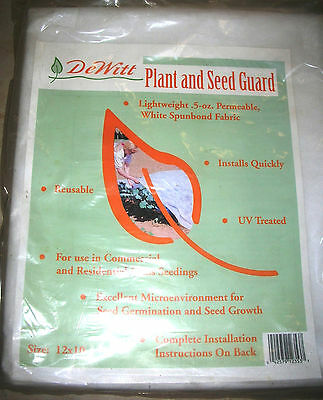 Dewitt PG12 Plant and Seed Guard 10 x 12 feet, Spunbond