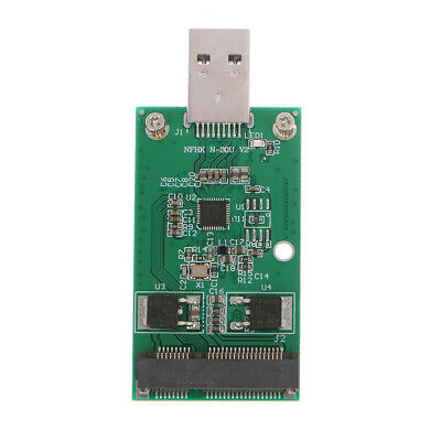 USB 3.0 to PCIE mSATA External PCBA SSD Conveter Adapter Card Data Transmission
