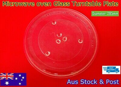 Microwave Oven Glass Turntable Plate Platter 285 mm Suits Many Brand (A53) New