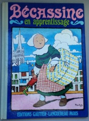 Bécassine en apprentissage - Édition de 1986 [ref.26232]