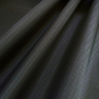 1Y Waterproof Ripstop Nylon Fabric Dark Grey High Quality Material for Kite Tent