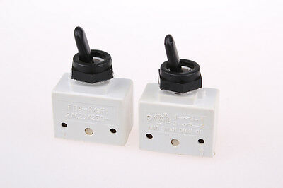 1pcs Toggle Switch FD2-2/2F1 250V 2A Electric Power Tool ON-OFF Positons