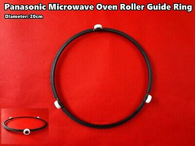 Microwave Oven Roller Guide Ring Turntable Support Plate Rotating 20cm Brand New