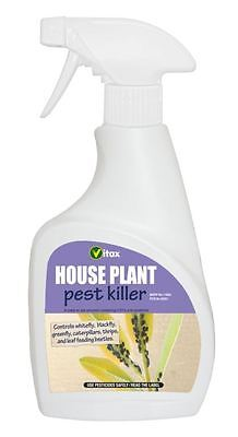 Vitax House Plant Pest Killer White Fly Green Fly Killer 300ml Spray