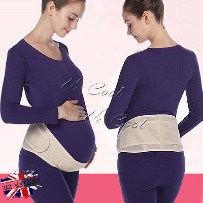Pregnancy Maternity Special Support Belt Back Bump Belly Band Waist Lumbar Lower