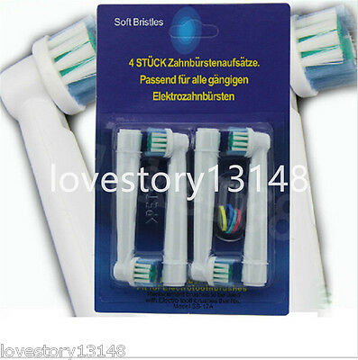 20pcs Electric Replacement Toothbrush Heads Soft-bristled SB-17A for Oral B New