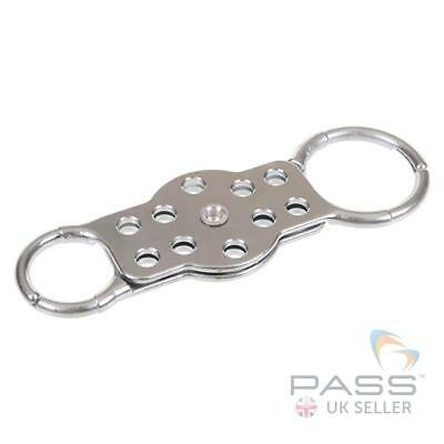 LOTO Double Loop Aluminium Lockout Hasp 10 Hole