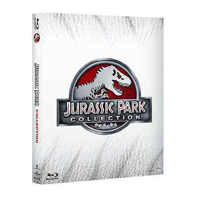 Blu-ray *** JURASSIC PARK Collection (4 Blu-Ray) *** sigillato