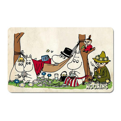 Moomins Picnic Breakfast Cutting Board Formica Mat Little My Moomintroll Papa
